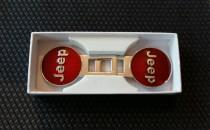 Заглушки ремней безопасности Jeep красные