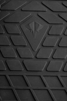 Stingray Коврики резиновые Toyota Hilux 2015-