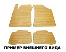 Коврики резиновые BMW 1 (E81/E82/E87) бежевые Stingray