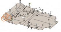Кольчуга Защита двигателя Audi A8 D4 Long 2010-2017