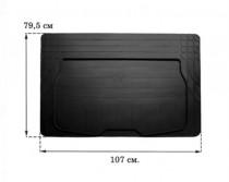 Резиновый коврик в багажник (размер XS 79,5см*107см) Stingray