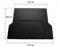 Резиновый коврик в багажник (размер L 137см*108см) Stingray