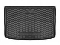 Полиуретановый коврик багажника Kia Stonic 2017- верхний Avto Gumm