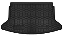 Полиуретановый коврик багажника Hyundai i30 2017- hatchback Avto Gumm