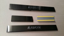 Накладки на пороги Ravon R4 NataNiko