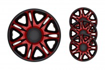 Колпаки R13 Nascar Red&Black J-TEC (Jacky Auto Sport)
