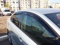 Дефлекторы окон Chevrolet Lacetti wagon ANV air