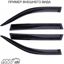 ANV air Дефлекторы окон Toyota Rav4 2006-2013