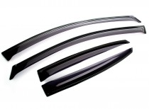 "Ветровики Kia Opirus 2003-2011 ""EuroStandard"" Cobra Tuning"