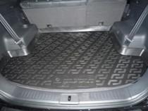 Коврик в багажник Chevrolet Captiva  2006- полимерный L.Locker