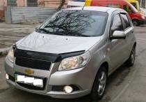 Дефлектор капота Chevrolet Aveo 2008-2011 HB Vip Tuning