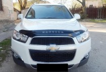 Дефлектор капота Chevrolet Captiva  2011- Vip Tuning