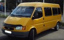 Дефлектор капота Ford Transit 1991-1999 Vip Tuning