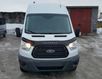 Дефлектор капота Ford Transit  2014- (Вариант А) Vip Tuning