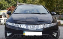 Дефлектор капота Honda Civic 2006-2011 hb Vip Tuning