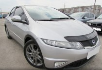 Дефлектор капота Honda Civic 2012- hb Vip Tuning