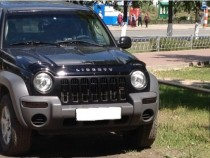 Дефлектор капота Jeep Liberty (KJ) 2001–2007 Vip Tuning