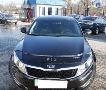 Дефлектор капота Kia Optima 2010-2013 Vip Tuning