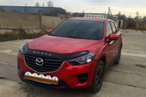 Дефлектор капота Mazda CX-5 2012-2017 Vip Tuning