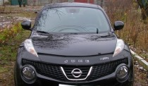 Дефлектор капота Nissan Juke 2010- Vip Tuning