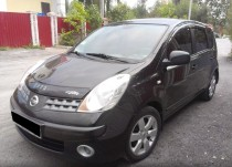 Дефлектор капота Nissan Note 2006-2009 Vip Tuning