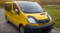 Дефлектор капота Opel Vivaro 2001- Vip Tuning