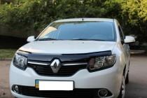 Дефлектор капота Renault Sandero 2013- Vip Tuning
