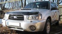 Дефлектор капота Subaru Forester 2002-2005 кузов SG5,SG9 Vip Tuning