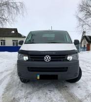 Дефлектор капота VW Transporter T5+ 2009- Vip Tuning