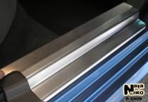 Накладки на пороги стальные CHEVROLET LACETTI 2004-