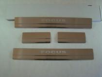 Накладки на пороги FORD FOCUS II 2005-2010