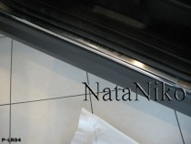 NataNiko Накладки на пороги LAND ROVER FREELANDER 2 2006-