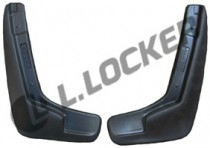 L.Locker Брызговики  ВАЗ Lada Largus/Renault Logan MCV 2006-2013  передние.к-т