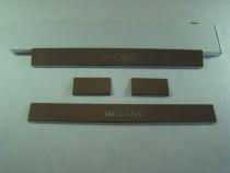 Накладки на пороги RENAULT MEGANE III GRANDTOUR 2009- NataNiko