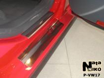 Накладки на пороги VW JETTA V 2005-2010