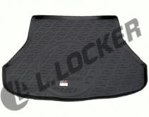 Коврик в багажник Kia Cerato 2013- sedan   полимерный L.Locker