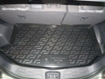 Коврик в багажник Kia Soul 2008-2013 Base полимерный L.Locker