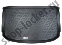 Коврик в багажник Kia Soul 2013- полимерный L.Locker
