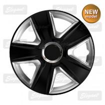 Колпак R14 ESPRIT RC black & silver  Elegant