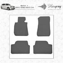 Коврики резиновые BMW 1 (E81/E82/E87) Stingray