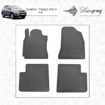 Stingray Коврики резиновые Chery Tiggo 5 (Т21) 2013-