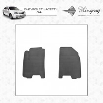 Коврики резиновые Chevrolet Lacetti 04-/Daewoo Gentra 13- передние Stingray