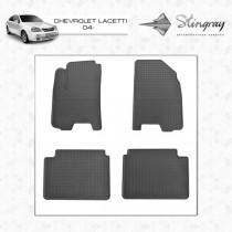 Коврики резиновые Chevrolet Lacetti 04-/Daewoo Gentra 13- Stingray