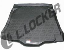 L.Locker Коврик в багажник MG 5 2012- полимерный