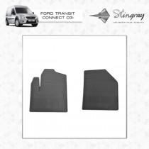 Коврики резиновые Ford Connect 2002-2012 передние Stingray