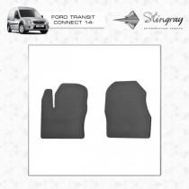Коврики резиновые Ford Connect 14- передние Stingray