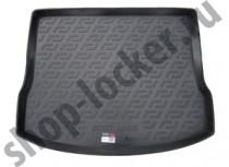 Коврик в багажник Mazda 3 hatchback 2013- полимерный L.Locker