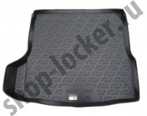 Коврик в багажник Mazda 3 sedan 2013-  полиуретановый L.Locker