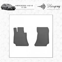 Stingray Коврики резиновые Mercedes E-class W212/CLS-class C218  передние