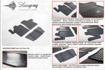 Stingray Коврики резиновые Mercedes Vito/Viano 2003- 2 шт